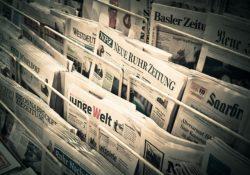 Zeitungen, Nachrichten, Kiosk